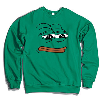 The Frog Pepe Crewneck Sweatshirt