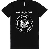 Midnight Memories 1D Seal-Female Black T-Shirt