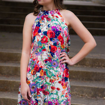 Summer Blooms Dress - Final Sale
