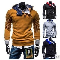 Winter fashion  sport coat s casual good Jacket Coat  Clothes Cardigan Style Jacket   4 Colors Size M-XXXL