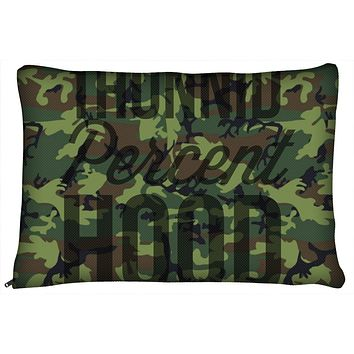 Army Camo Dog Bed's by 1Hunnid Percent Hood