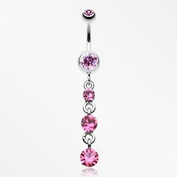 Gems Galore Belly Button Ring