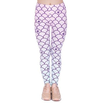 Mermaid Scales - Women's Leggings