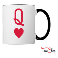 Queen of hearts Coffee & Tea Mug