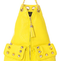 Street Level The Jagged Pill Backpack in Vibrant Yellow : Karmaloop.com - Global Concrete Culture