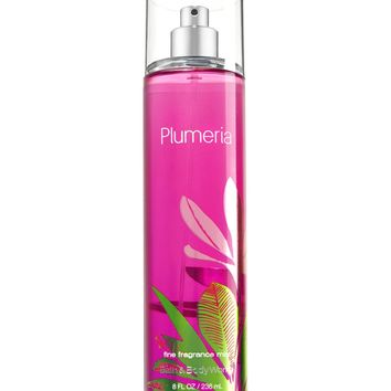 Bath & Body Works PLUMERIA Fragrance Mist 8 fl oz