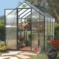 The Polycarbonate Greenhouse - Hammacher Schlemmer