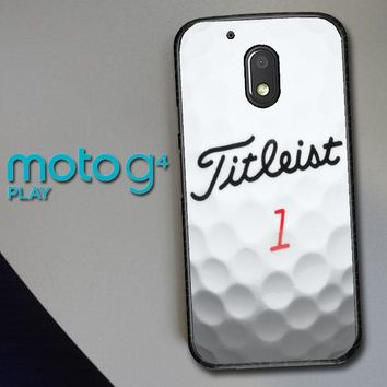 Titleist Golf Ball X4368 Motorola Moto G4 Play Case