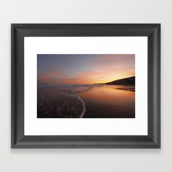 Last light at Dusk Framed Art Print by Peaky40