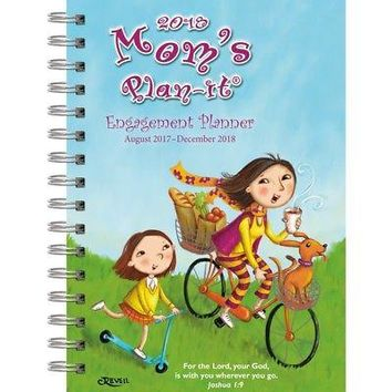 The LANG Companies WSBL Moms 2018 Engagement Planner Personal Organizer