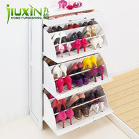 Online Shop Furniture modern brief japanese style solid wood shoe cabinet women's shoes 2012 40s-the Aliexpress Mobile