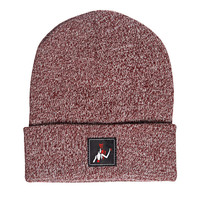 Dance With The Devil Beanie - Burgundy