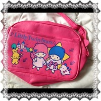 Rare Vintage 80's Sanrio LIttle Twin stars purse, Like new excellent condition from Niftyvintagegirl