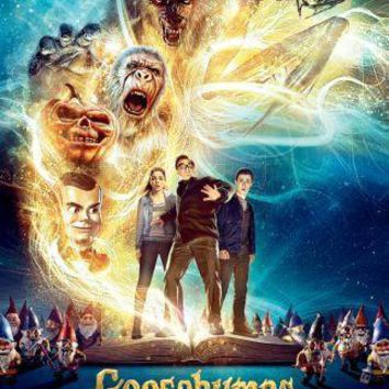 Goosebumps Movie Poster Standup 4inx6in