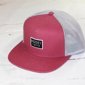 "HOOey ""Roots"" OSFA (snapback) 1714T-RDGY NEW FOR 2017"