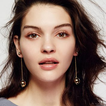 Free People Baroque Chain Pendulum Earring