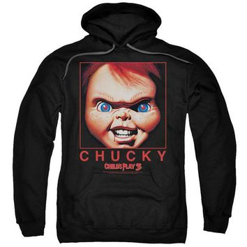 ac NOOW2 Childs Play - Chucky Squared Adult Pull Over Hoodie
