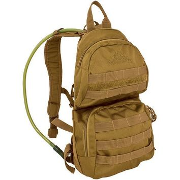Red Rock Gear Cactus Hydration Pack Coyote
