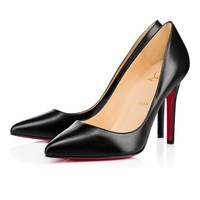 Pigalle 100 BLACK Kid - Women Shoes - Christian Louboutin