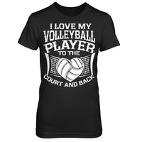 Volleyball Court And Back
