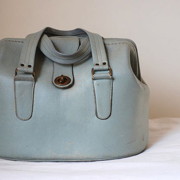 Vintage Leather Purse Leather handbag Vintage by TheNewtonLabel