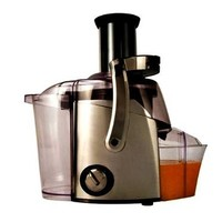 Juiceman JM400 - Black Chrome Juicer 700W 2 Speed 3 Slide Switch