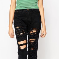 Tired Of Tokyo Distressed Jean