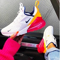 Nike Air Max 270 Fashsion New Hook Leisure Sports Running Shoes