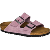 Birkenstock Arizona Soft Footbed Suede Narrow Sandal