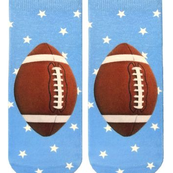 Football Star Ankle Socks