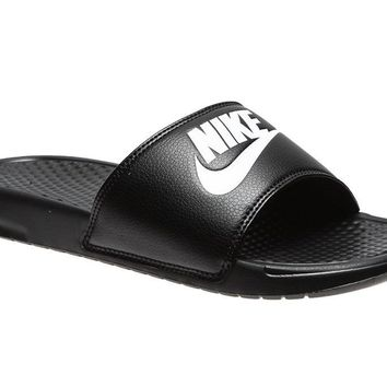 Nike Air Benassi JDI sz 7-11 Sandals Slide Slippers Flip Flops 343880-090 Sandal