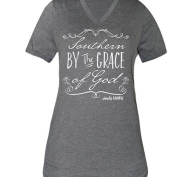 SF Southern By the Grace of God Tee
