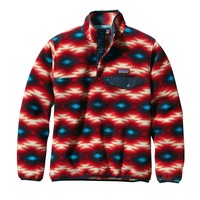 Patagonia Women's Lightweight Synchilla® Snap-T® Pullover | Wild Desert: Classic Red