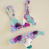 New Arrival Swimsuit Beach Hot Summer Swimwear Sexy Ladies Print Bikini [9666738887]