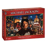 BePuzzled 1000-pc. Michael Jackson Album Cover Puzzle