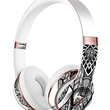 Sacred Ornate Elephant Full-Body Skin Kit for the Beats by Dre Solo 3 Wireless Headphones