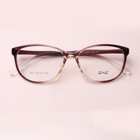 TR 90 Cat Eyes Black Brown Wine Red Eyeglasses Fresh Myopia Spectacle Student Fashion Prescription Glasses Frame