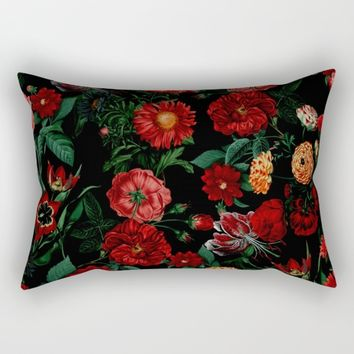 Botanical Garden Rectangular Pillow by RIZA PEKER
