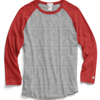 Baseball T-Shirt in Antique Grey Mix