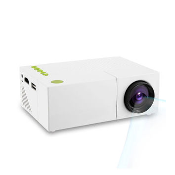 YG310 Portable LCD Projector HD 400-600 LM 1080P AV USB HDMI Video LED Mini Projector Smart Home Cinema Theather Video Projector