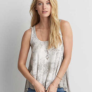 AEO Soft & Sexy Jegging Tank , Gray