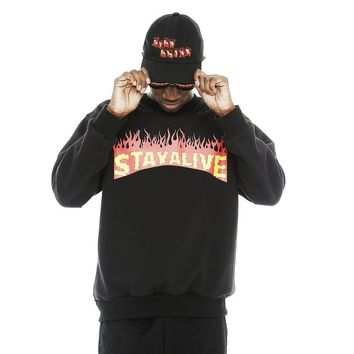 STAY ALIVE BASEBALL CAP