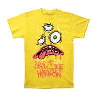 Bring Me The Horizon Men's  KK Yellow T-shirt Yellow Rockabilia