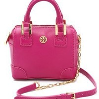 Tory Burch Robinson Shrunken Satchel | SHOPBOP