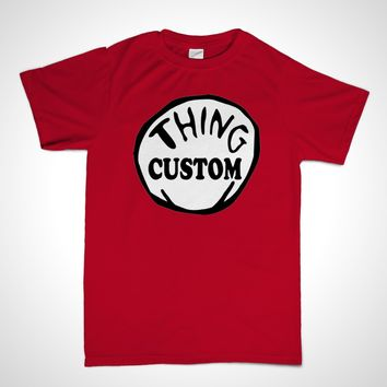 Thing Shirt Youth | Thing 1, Thing 2, Thing 3, Thing (YOUR NAME)