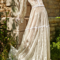 Romantic Lace Gown | Moda Operandi