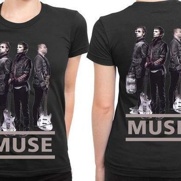 Muse Cover 2 Sided Womens T Shirt