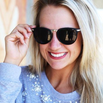 Vintage Sunnies {Black}