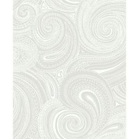 York Wallcoverings, 56 sq. ft. Paisley Swirl Wallpaper, AP7473 at The Home Depot - Mobile