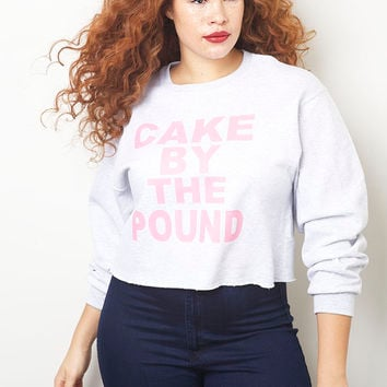 Bad Beyhavior Cake By The Pound Sweatshirt - Shop Women's Missy & Plus Size Clothing